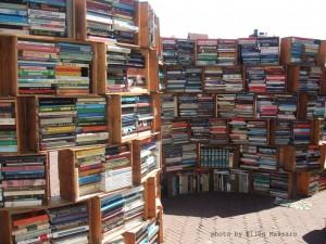 Goede boeken in oude kisten